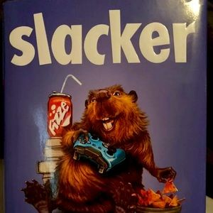 Slacker- Gordon korman- hardcover book